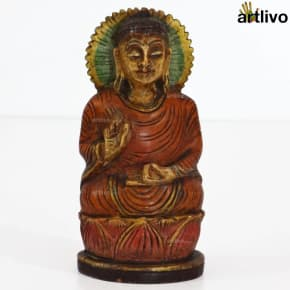 POPART Wooden Buddha Orange