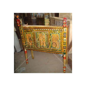 Antique Indian Beautiful Marvellous Solid Wood colorfull design Trunk