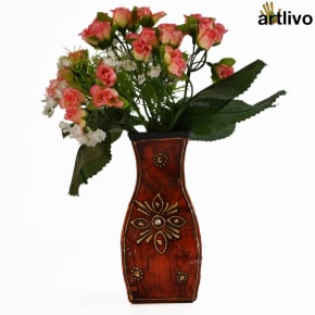 EMBOSSED Albatross Flower Vase