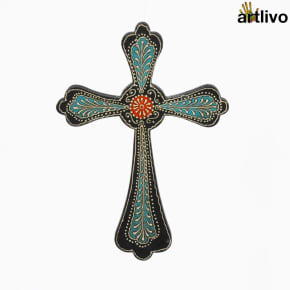 EMBOSSED Wall Hung Cross - WH012