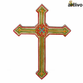 EMBOSSED Wall Hung Cross - WH015