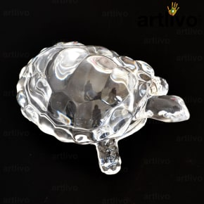 Glass Crystal Big Tortoise