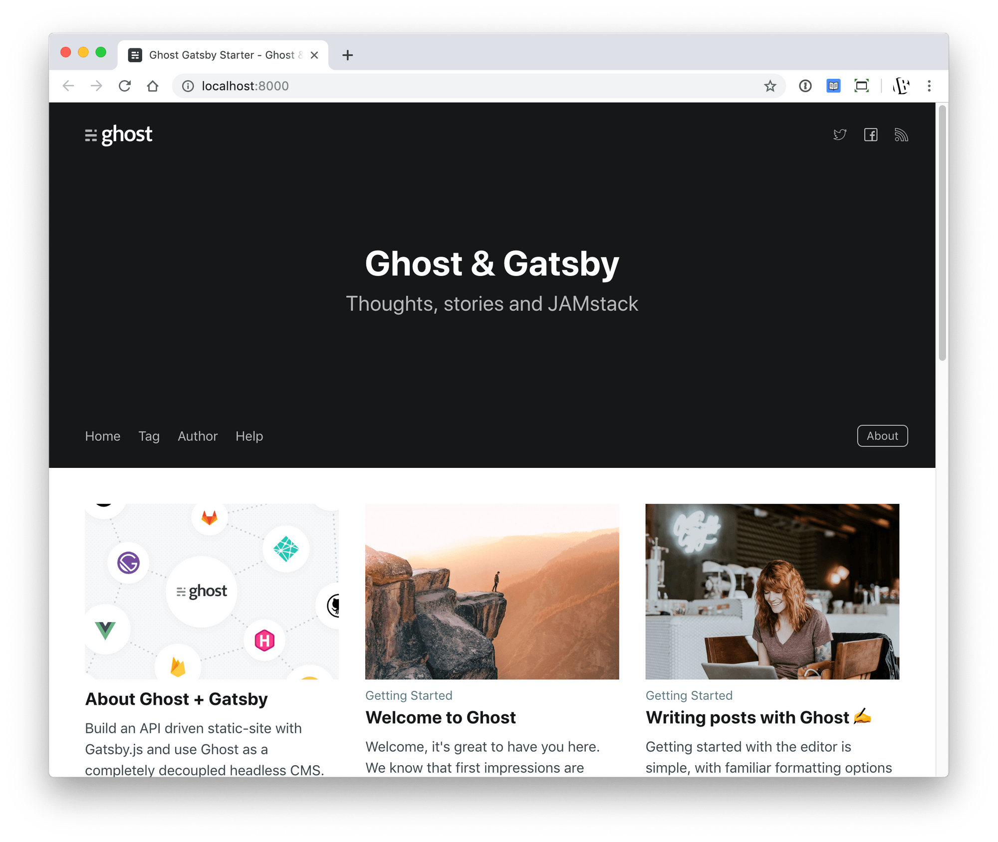 Tutorial: Build a JAMstack Personal Blog with Headless Ghost