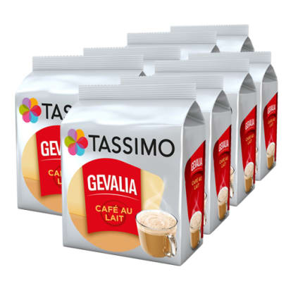 Gevalia Café au Lait Big Pack for Tassimo
