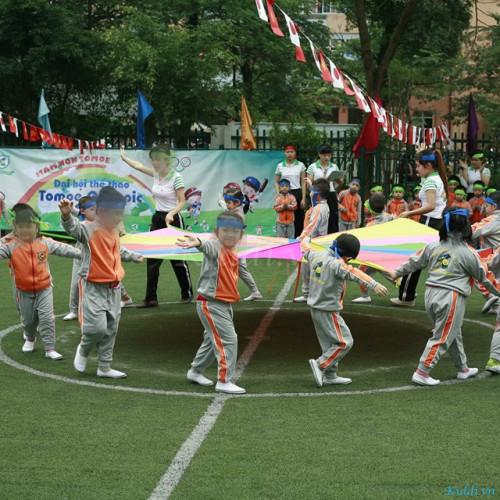 Trường mầm non Tô-mô-e - Trung Hòa - Nhân Chính