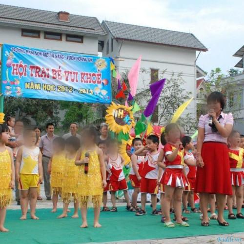 Trường mầm non Trẻ Tài Năng - Trung Kính