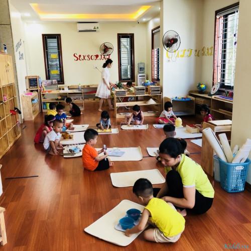 Trường song ngữ Viethan Montessori - KĐT Kim Văn Kim Lũ