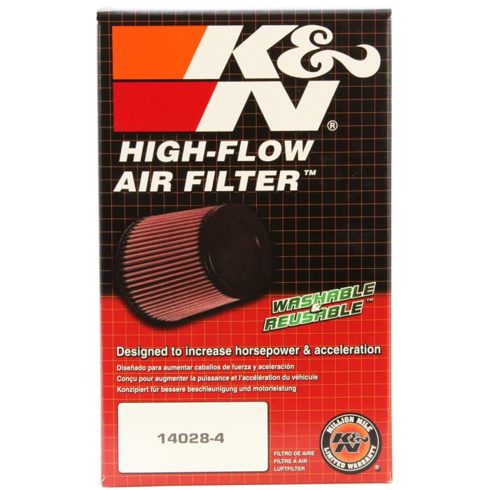 K/&N RU-2970 Voitures Moto Filtre Universel en Caoutchouc