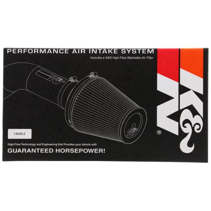 K/&N 57-2537 FIPK Performance Air Intake System K/&N Engineering