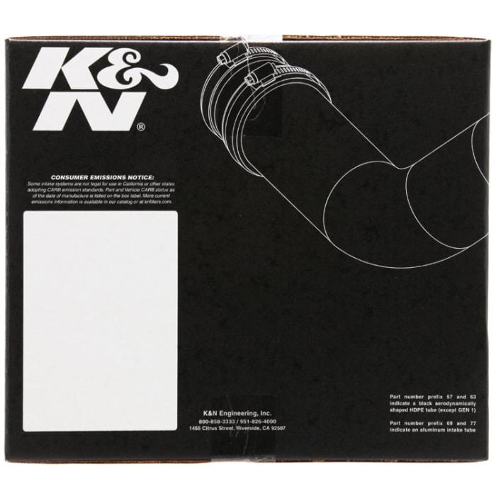 K/&N 57-1523 FIPK Performance Air Intake System