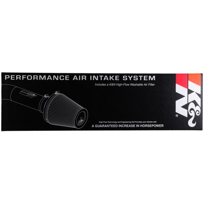 K/&N 69-2544TP Performance Air Intake System with Yellow Air Filter Wrap