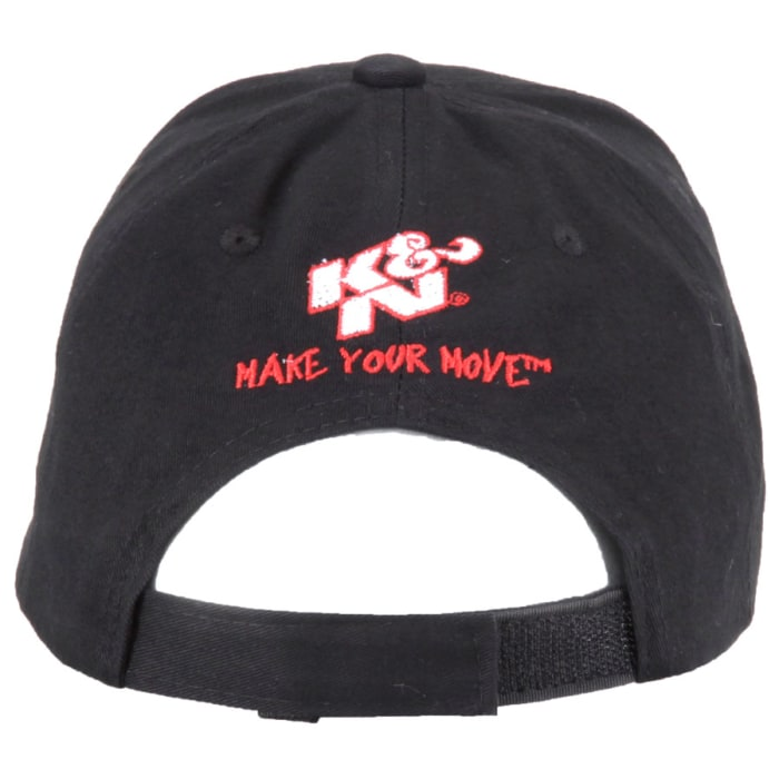 K/&N K and N 88-12068 Hat Black//White
