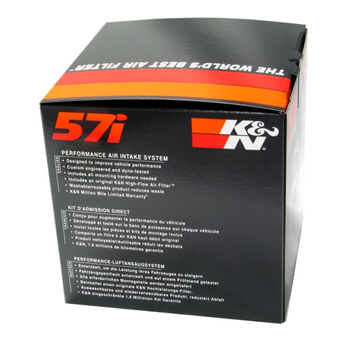 K/&N 57-0659 57i High Performance International Intake Kit