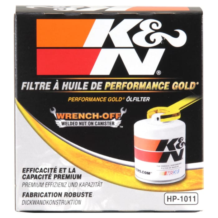 K/&N Filters HP-1011 Performance Gold Oil Filter