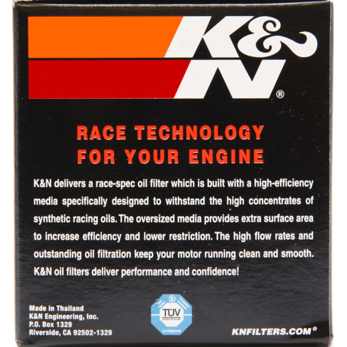 K and N KN138 oil filter.