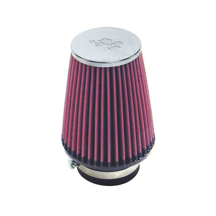 """RED 2006 UNIVERSAL 89mm 3.5/"""" INCHES AIR INTAKE FILTER"""