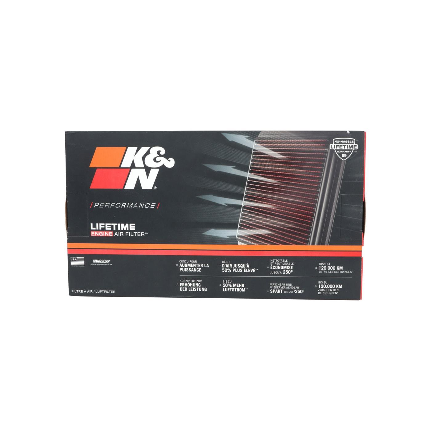 K/&N Sportluftfilter Tauschfilter 33-2988