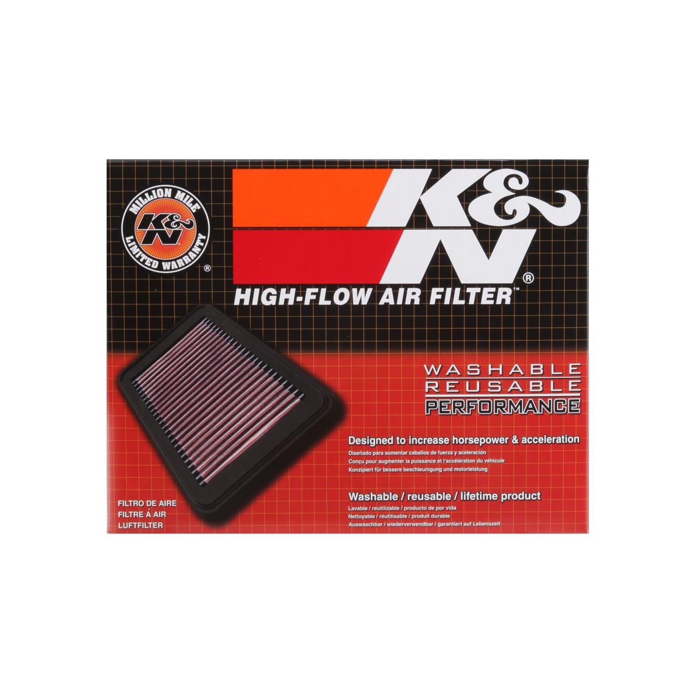 K/&N Filters SU-2513 Filtro de aire Moto
