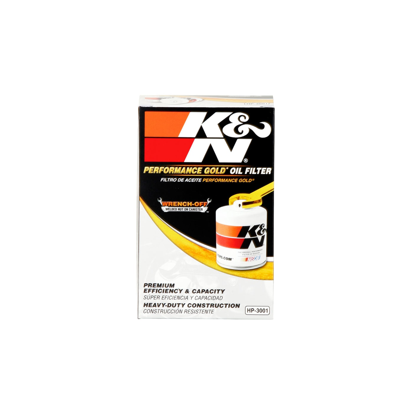 HP-3001 K/&N Oil Filter FOR FORD FALCON BA
