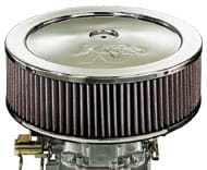 Eleven Inch Chrome Air Filter