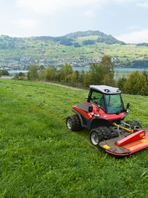 Vicon EXTRA 324F Alpin. Compact front mounted plain mower designed for hilly, alpine conditions.