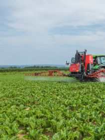 Kverneland iXter A, new generation HC spray booms