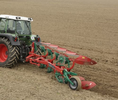 Reversible Mounted Ploughs - Kverneland 150 B, light to medium soils without stones, cost efficient