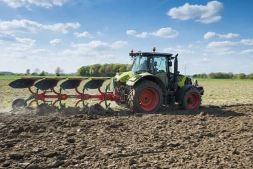 unted Ploughs - 150 B Variomat, high performance, long lifetime and easy to handle during operation  - Kverneland B Variomat ploughing light to medium soils without stones