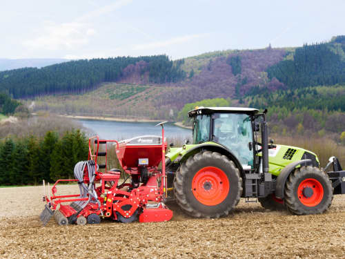 Kverneland e-drill compact, 1400 liters hopper, ELDOS, isobus, IsoMatch, CX-II coulters, iM Farming