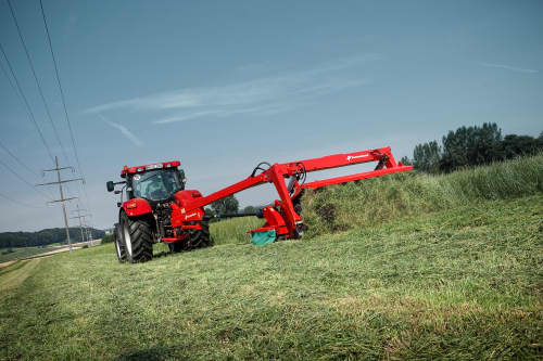 Mower Conditioners - Kverneland 4300 LT LR CT CR, BX Swath Belt speed up collection of crop