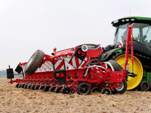 Pneumatic precision drills - Kverneland optima RS, high efficiency, environment friendly, GEOCONTROL and GEOSEED