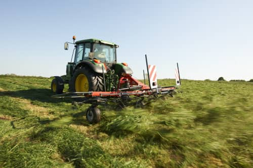Mounted Tedders - Vicon Fanex 604 - 804, ideal for hay making also low weight and low power requirments