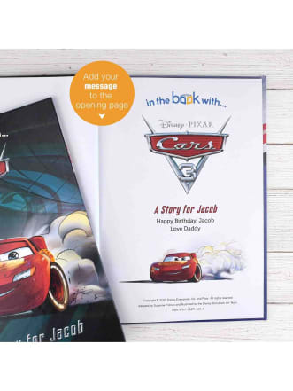 Personalised Disney Cars 3 Book