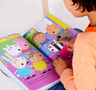 Personalised Peppa Pig Playgroup book