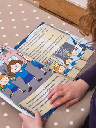 Personalised Wizard School Book