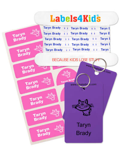Sew on Labels Pack for School