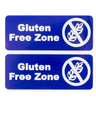 Etichette adesive per allergie