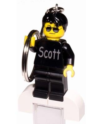 Personalisierter LEGO®-Figur Schlüsselanhänger