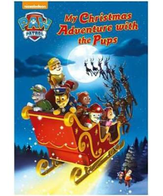 Personalised Paw Patrol Christmas Adventure Book