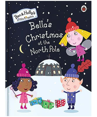 Personalised Ben & Holly Christmas Book