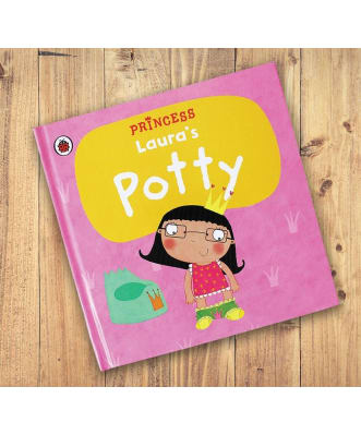 Personalised Potty princess book