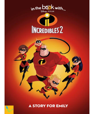 Personalised The Incredibles 2 Book