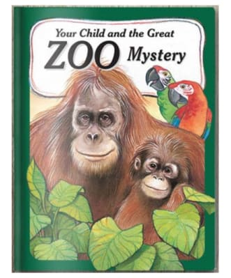 Personalised Zoo Adventure Book