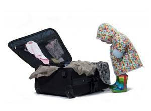 Children packing