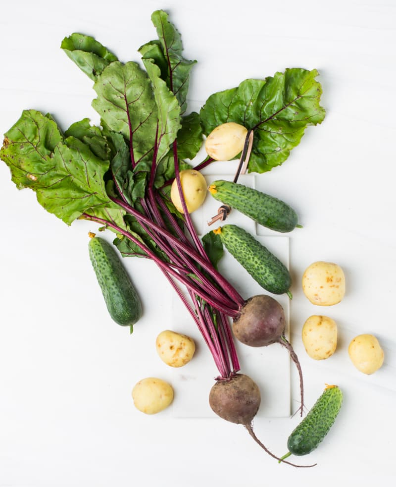 What can I mix sea beets with to make a delicious meal?