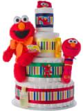 Elmo 4 Tier Diaper Cake