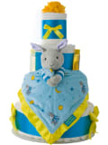 Goodnight Moon 4 Tier Baby Diaper Cake