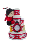 Lil' Ladybug Diaper Cake by Lil Baby Cakes