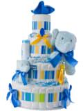 Lolly Elephant Baby Diaper Cake