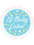 You are My Sunshine Girl's Diaper Cake by Lil' Baby Cakes